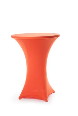 hoes statafel stretch oranje 85 cm