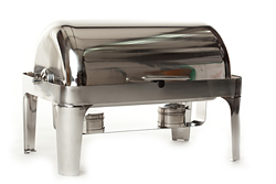 chafing dish gastronorm 1/1 GN roll top luxe