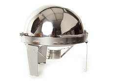 chafing dish rond roll top luxe