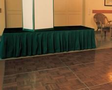 supplement tapijt voor podium (prijs per m2)