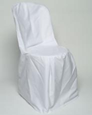 terrasstoel met kussens en hoes wit