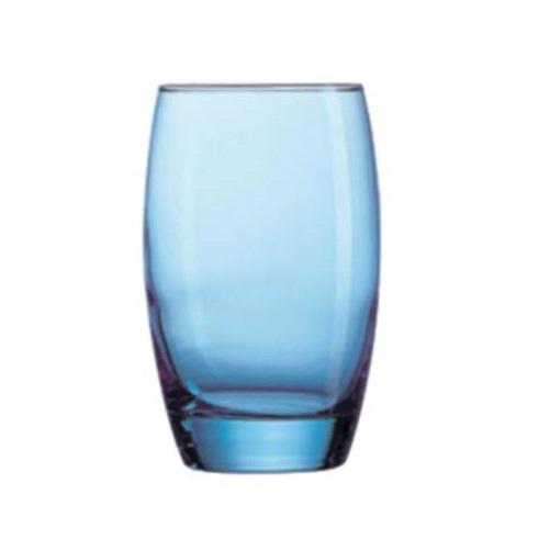 Waterglas Syrah blue 35 cl, per 12 stuks